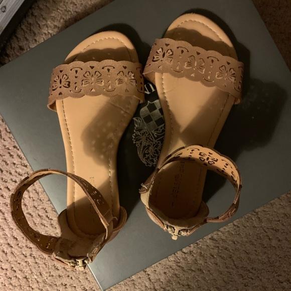 Delias Shoes Rose Gold Little Girl